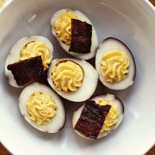 Bacon and Deviled Eggs From 'Maximum Flavor'