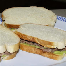 Roast Beef and Avocado Finger Sandwiches