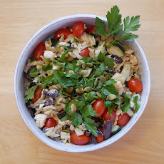Quick & Delicious Greek Orzo Salad