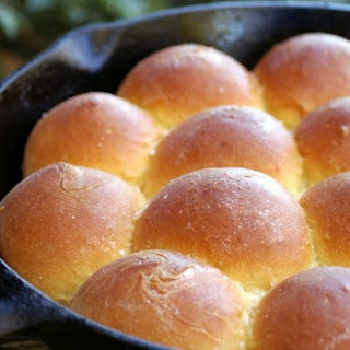 Cast Iron Parker House Rolls