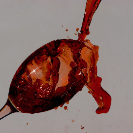 Red wine splash by Anthony Doyle - Food & Drink Alcohol & Drinks (  )
