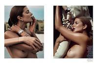 Photography Cedric Buchet, Stylist Julia von Boehm, Makeup Frank B