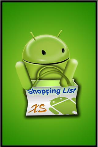 Shopping List XS