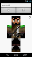 Screenshot of Skin Widget for Minecraft