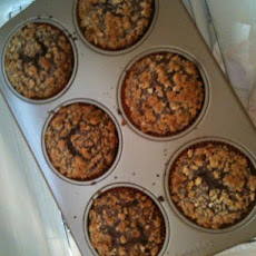 Brownie Coffeecake Muffins