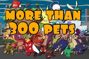 Screenshot of Terapets 1 Smash Pets Monsters