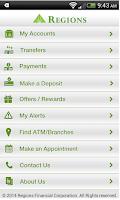 Screenshot of Regions Bank