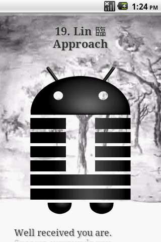 eChing Lite electronic I Ching