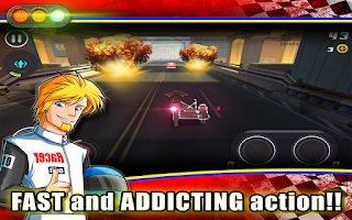 Screenshot of Grand Theft Biker: Vice Race