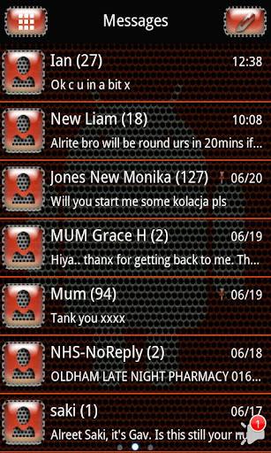 Cygnus X GO SMS