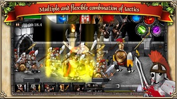 Screenshot of Spartans vs Zombies defense