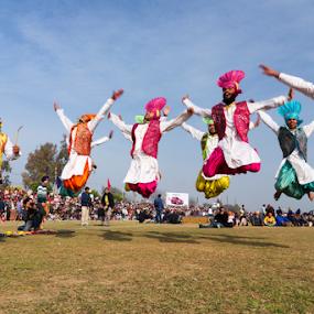Bhangra - The Energetic Dance from Punjab by Ajay Sood - News & Events Entertainment ( punjab, kila raipur, rural olympics, ajay, sood, bhangra, travelure, dance, ludhiana, energy, rural sports )