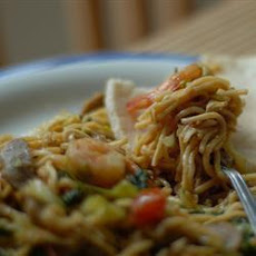 Indonesian Mie Goreng Noodles