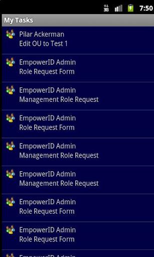 My EmpowerID Task List