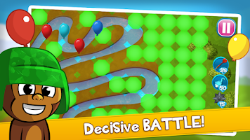 Screenshot of Balloon Battle