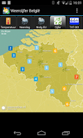 Screenshot of Weer & Zo België