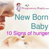 10 Signs of hunger of new born baby