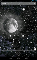 Screenshot of Winter Snowfall Live Wallpaper