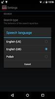 Screenshot of Offline English Polish Dict.