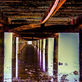 small bridge by Arik S. Mintorogo - Landscapes Beaches