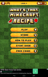 Guess The Recipe For Minecraft - screenshot