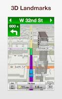 Screenshot of VZ Navigator for LG Spectrum