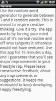 Screenshot of How to freestyle rap -training