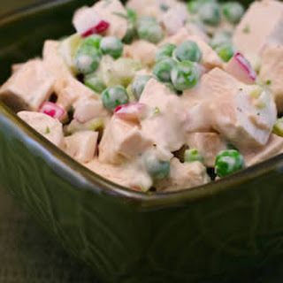 Chicken Salad with Fresh Tarragon and Peas