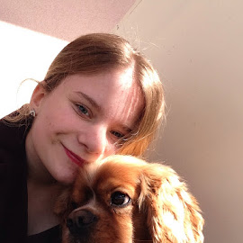 Selfie  by Meghan Arkell - Animals - Dogs Puppies