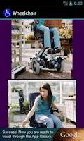 Screenshot of Wheelchair