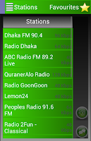 Screenshot of A2Z Bangladesh FM Radio