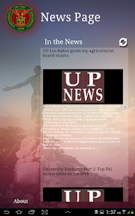UP NewsApp - screenshot