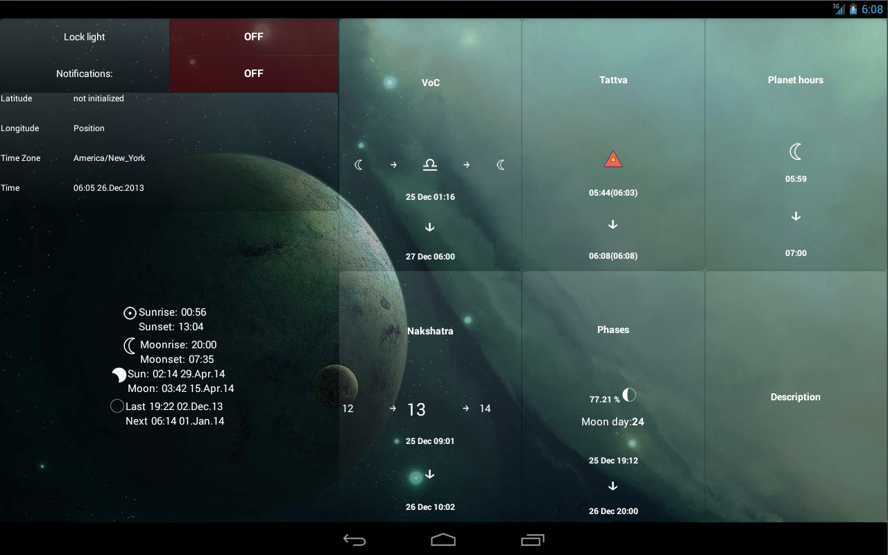 Lunar Calendar Screenshot 8