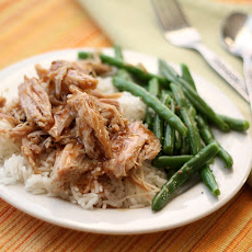 Slow Cooked Pulled Pork Roast with a Tangy Glaze Sauce