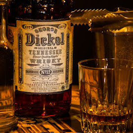 George Dickel No12 by Oktatam Fargotof - Food & Drink Alcohol & Drinks ( george, tretter's george dickel no12 tennessee bourbon, tretter's, bar, prague )
