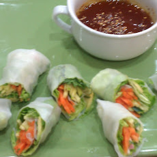 Summer Rolls with Thai Dipping Sauce