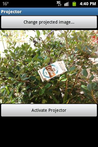 【免費媒體與影片App】Pocket Projector-APP點子