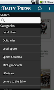 Download Escanaba Daily Press APK for Android