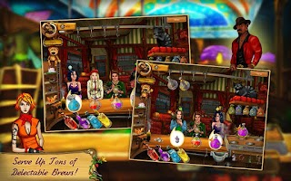 Screenshot of Potion Bar