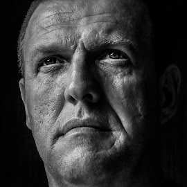 Windows to the soul by Sean Snyman - People Portraits of Men ( selfie, time, black and white, portrait, aged )