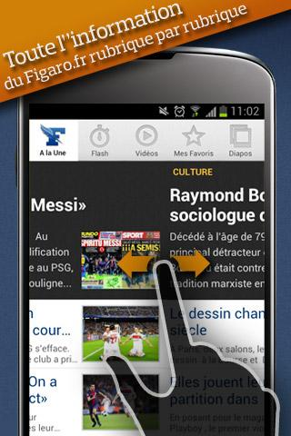 le-figaro-fr for android screenshot