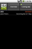 Screenshot of I.O.U - I Owe You