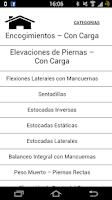 Screenshot of Ejercicios Fisicos