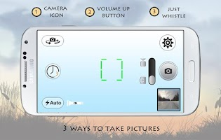 Screenshot of Whistle Camera - Selfie & More
