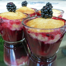 Blackberry Cobblers Cups and Blackberry Upside-Down Cake