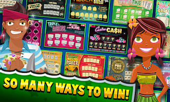 Screenshot of Scratch Blitz FREE Scratchers