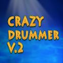 CRAZY DRUMMER  v.2 icon