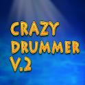 CRAZY DRUMMER  v.2 icon