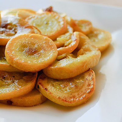 Steam Sauteed Summer Squash