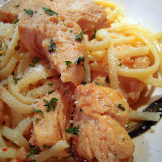 "Buttery Chicken ""Scampi"" Pasta"